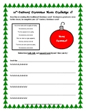 21st-Century Christmas Songs Challenge