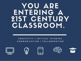 21st Century Classroom (Dark Blue)