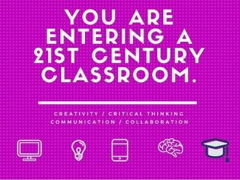 21st Century Classroom (Purple/Pink)