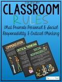 Classroom Rules Social Responsibility