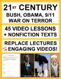 21st Century Complete U.S. History Unit | Printable & Digital