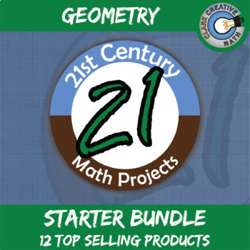 21st Century Geometry Projects Starter Bundle -- Common Core Aligned