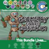 21st Century Geometry Curriculum Bundle + Free Lifetime Downloads