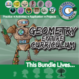 21st Century Geometry Curriculum Bundle + Free Lifetime Downloads
