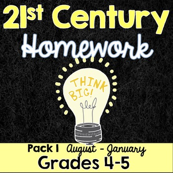 21st Century Homework- Weekly Assignments Based on Histori