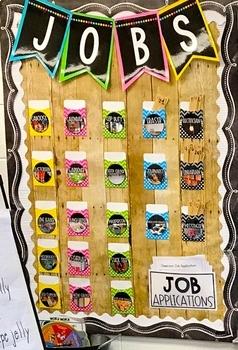 21st Century Job Labels EDITABLE