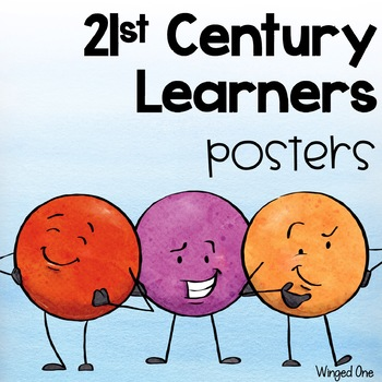 21st Century Learners Skills Posters