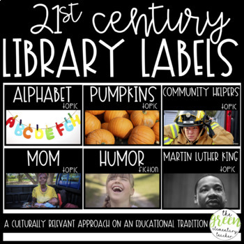 21st Century Library Labels