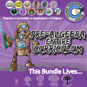21st Century Pre-Algebra -- the Entire Curriculum + Free Lifetime Downloads