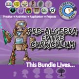 21st Century Pre-Algebra Curriculum Bundle + Free Lifetime Downloads