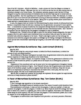 21st Century U.S. History Primary Source Readings (Bush/Obama)