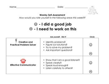 21st Century Skill Self-Assessment