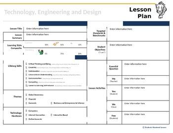 21st Century Skills Lesson Plan Template