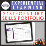 21st-Century Skills Portfolio {Google Slides™ Option}
