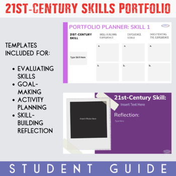 21st-Century Skills Portfolio {Printable and Digital Option}