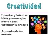 21st Century Skills Posters - Spanish