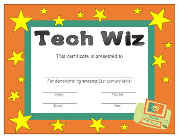 21st Century Superlative Award Certificates