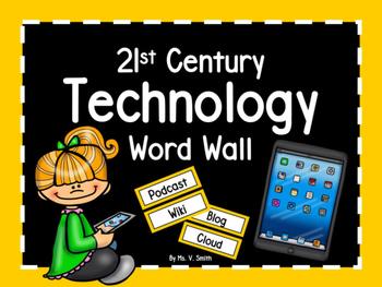 21st Century Technology Word Wall