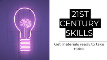 21st Century Thinking Skills / Building a Resume