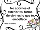 22 Classroom posters - Spanish sayings with commands