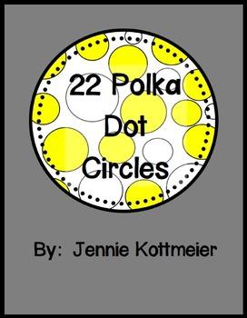 22 Clip Art Polka Dot Circle Images
