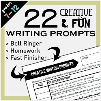 Creative & Fun Writing Prompts