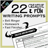 Creative & Fun Writing Prompts