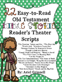 "22 ""Easy-to-Read"" Old Testament Bible Story Reader's Theater Scripts"