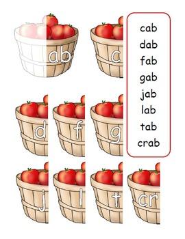 22 Family Words: Apple Harvest Basket