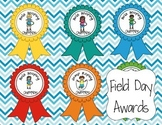 22 Field Day Award Ribbons