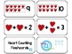 22 Heart Counting and 10 Frame Printable Flashcards. Preschool-KDG Math.