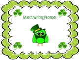 22 March & St. Patrick's Day Writing Prompts