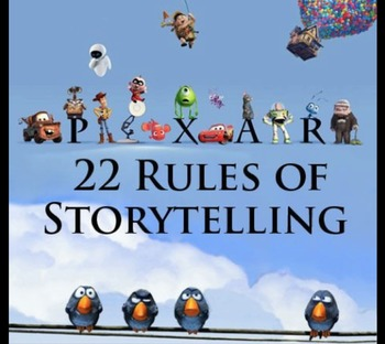 22 Rules of Storytelling Power Point & Exercise