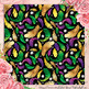 22 Seamless Mardi Gras Fat Tuesday Holiday Digital Papers