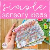 22 Simple Sensory Ideas // Kindergarten Planning made Easy
