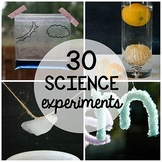 30 Science Experiments PLUS Science Journal (Distance Learning)