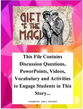 The Gift of the Magi by O'Henry Teacher Supplemental Resources Fun Engaging