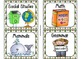 220 Classroom Library Book Bin / Basket Labels {Camping Theme }