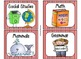 220 Classroom Library Book Bin / Basket Labels {Circus / Movie Stripes}