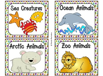 220 Classroom Library Book Bin / Basket Labels {Monster Theme}