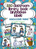 220 Classroom Library Book Bin / Basket Labels {Ocean / Beach Theme}