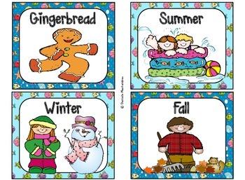 220 Classroom Library Book Bin / Basket Labels {Ocean / Beach Theme}
