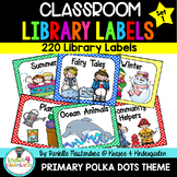 220 Classroom Library Book Bin / Basket Labels {Primary Po