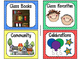 220 Classroom Library Book Bin / Basket Labels {Primary Polka Dots} SET 2