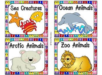 220 Classroom Library Book Bin / Basket Labels {Summer Flip Flop Theme}