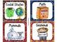 220 Classroom Library Book Bin / Basket Labels {Western Co