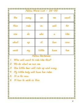 220 Dolch Sight Word Booklet For Common Core Reading