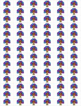 220 Dolch Sight Word Turkey BINGO (Daycare Support by Priscilla Beth)