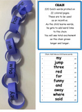 Dolch Words Activity - Chain