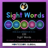 MS PowerPoint | 220 High Frequency Words + 95 High Frequency Nouns